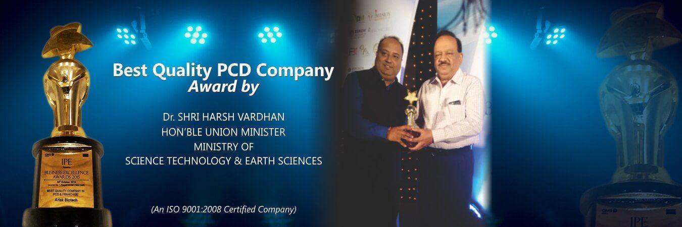 best PCD Company Award